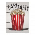 Тетрадь а5 bruno visconti popcorn на кольцах, сменный блок, 80л., пластик.обл., в точку
