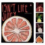 Тетрадь а5 48л. альт juice life клетка, матов.ламин., скругл. углы, 5 диз.