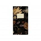 Записная книжка А6 Bruno Visconti 30л. Ночные цветы клетка, обл.мел.картон, мат.лам., скруг.уголки
