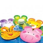 Набор для праздника Party Веселые животные (6 тарелок, 6 чашек, 6салфеток, скатерть)