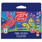 Фломастеры  8цв Artberry Glitter европодвес