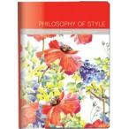 Записная книжка А6+  InFolio 96л. Flowers в интегральном переплете