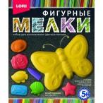 Мел цветной Lori-toys Юный художник фигурный