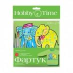 Фартук для труда Альт HobbyTime Слоники детский, 6-8 лет