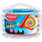 Мелки гелевые 06цв. MAPED Color Peps в пластиковой коробке