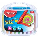Мелки гелевые 10цв. MAPED Color Peps в пластиковой коробке
