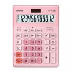 Калькулятор Casio GR-12 розовый, 12 разряд., 15,5х20,9х3,5