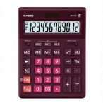 Калькулятор Casio GR-12 бордовый, 12 разряд., 15,5х20,9х3,5