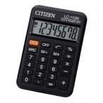Калькулятор CITIZEN LC-110NR,  8 разряд., черный, 87*58*12 мм, европодвес