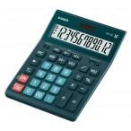 Калькулятор Casio GR-12 темно-зеленый, 12 разряд., 15,5х20,9х3,5
