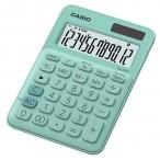 Калькулятор Casio MS-20UC-GN-S-EC зеленый, 12 разряд., настольный, 105х150х23