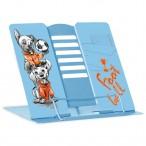 Подставка д/книг Феникс Футбол окраш.сталь, шелкография, прижим, шесть углов наклона