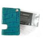 Футляр для кредитных карт Askent веерная на 8 карт ,бирюза