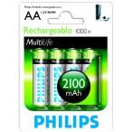 Батарейка Philips HR6-4BL 2100 mAh