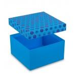 Коробка Фэнтези дотс 16,5х16,5х9см.