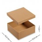 Коробка подарочная ''Браун.Квадратная'' малая