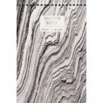 Скетчбук А5+ Эксмо на спирали Line art-1 тв.обл., 30л., глян.лам., тисн. фольгой, 180гр., 160х240