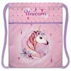 Мешок для обуви Хатбер Magic unicorn 1 отделение, с карманом на молнии, 34х47см., индив.упак.