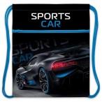 Мешок для обуви Хатбер Sport car 1 отделение, с карманом на молнии, 34х47см., индив.упак.