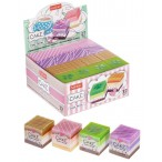 Ластик Хатбер Cake pvc, картонный дисплей