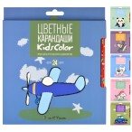Карандаши 24 цв. Bruno Visconti Kids Color  6в.