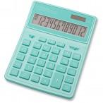 Калькулятор CITIZEN SDC-444XRGNE, 12 разряд., бирюзовый, 155х204х33мм, двойное питание