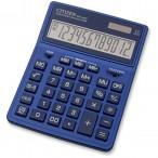 Калькулятор CITIZEN SDC-444XRNVE, 12 разряд., темно-синий, 155х204х33мм, двойное питание