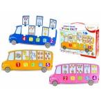 Развивающая игра Рыжий Кот Bright Kids.Автобус знаний Учим счет  (развивающие пазлы)