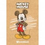 Скетчбук А6 Хатбер Микки Маус(Disney) 80л., тв.обл., без линовки, 100г/кв.м