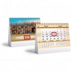 Календарь-домик 2021г. хатбер делового человека.золото наст., на гребне, бегунок, 160х105мм