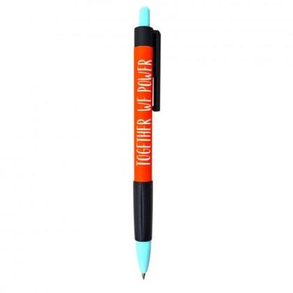 Ручка шариковая Be Smart Girls.Красный синяя, 0,7мм., автоматическая