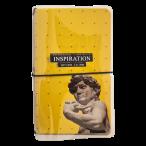Записная книжка А6+ Be Smart  32л.Inspiration. клетка, линия, пласт.обл., резинка, скр.уг, 108х175