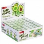 Ластик ХАТБЕР Avocado прямоугольный, pvc, картон.дисплей