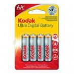 Батарейка Kodak Max Uitra digital LR 6-4BL