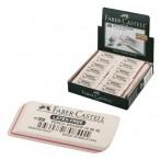 Ластик Faber Castell 7008 каучук, д/графит. каран., белый
