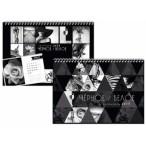 Календарь 2019г. Лакарт Дизайн Черное и белое перекидной, на спирали, 489х339мм