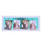 Рамка д/фото Mazari 20х50см., пайетки, карт.уп., в термопленке